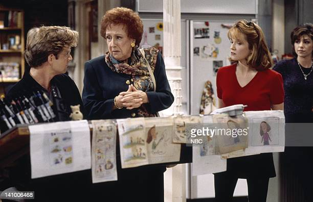 CITY 'Caroline and the Opera' Episode 7 Aired 11/9/95 Pictured Malcolm Gets as Richard Karinsky Jean Stapleton as Aunt Mary Kosky Lea Thompson as...