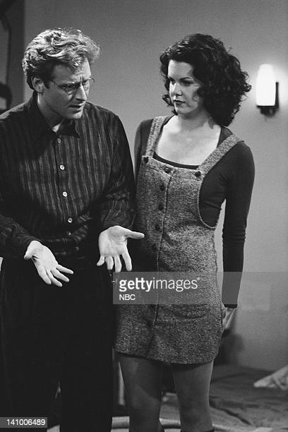 CITY 'Caroline and the Opera' Episode 7 Aired 11/9/95 Pictured Malcolm Gets as Richard Karinsky Lauren Graham as Shelly Photo by Mike Ansell/NBCU...