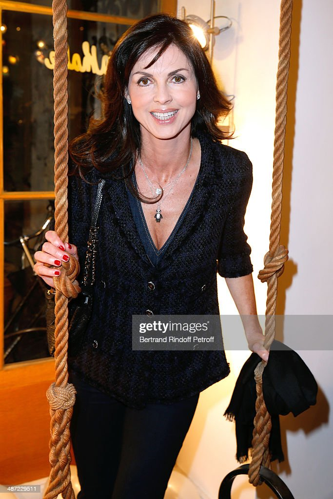 Caroline Barclay attends the 'Charriol': Ephemeral Boutique opening hosted by Nathalie Garcon at Nathalie Garcon store, Galerie Vivienne on April 28, 2014 in Paris, France.