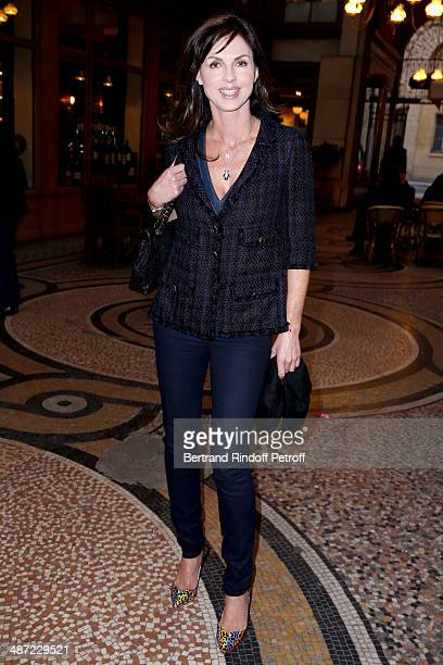 Caroline Barclay attends the 'Charriol' Ephemeral Boutique opening hosted by Nathalie Garcon at Nathalie Garcon store Galerie Vivienne on April 28...