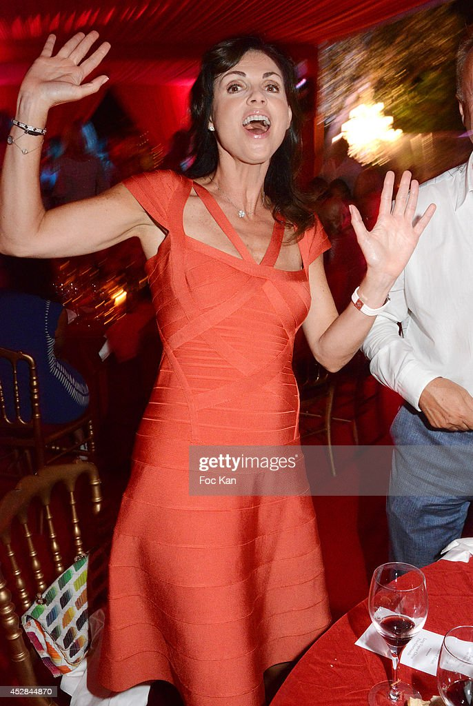 Caroline Barclay attends the Monika Bacardi Summer Party 2014 St Tropez at Les Moulins de Ramatuelle on July 27, 2014 in Saint Tropez, France.