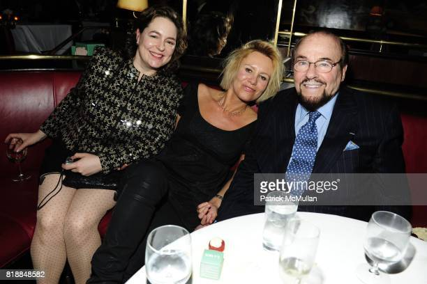 Caroline Bassett Dawn McDaniel and James Lipton attend CHRISTIE'S The Green Auction A Bid To Save The Earth at Christie's on April 22 2010 in New...