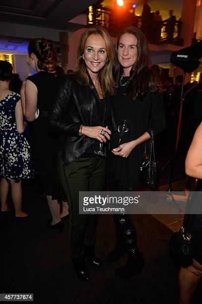 Caroline Beil and Nadine Moellers attends 'The Wyld Nicht von dieser Welt' Premiere at FriedrichstadtPalast on October 23 2014 in Berlin Germany