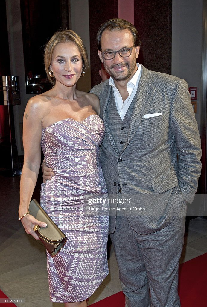 <a gi-track='captionPersonalityLinkClicked' href=/galleries/search?phrase=Caroline+Beil&family=editorial&specificpeople=226721 ng-click='$event.stopPropagation()'>Caroline Beil</a> and Roman Maria Koidl attends the Vodafone Night at Hotel de Rome on September 26, 2012 in Berlin, Germany.