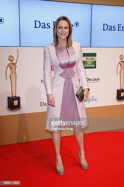 Caroline Beil attends 'Goldene Bild Der Frau' Award 2013 at the Axel Springer Haus on March 12 2013 in Berlin Germany