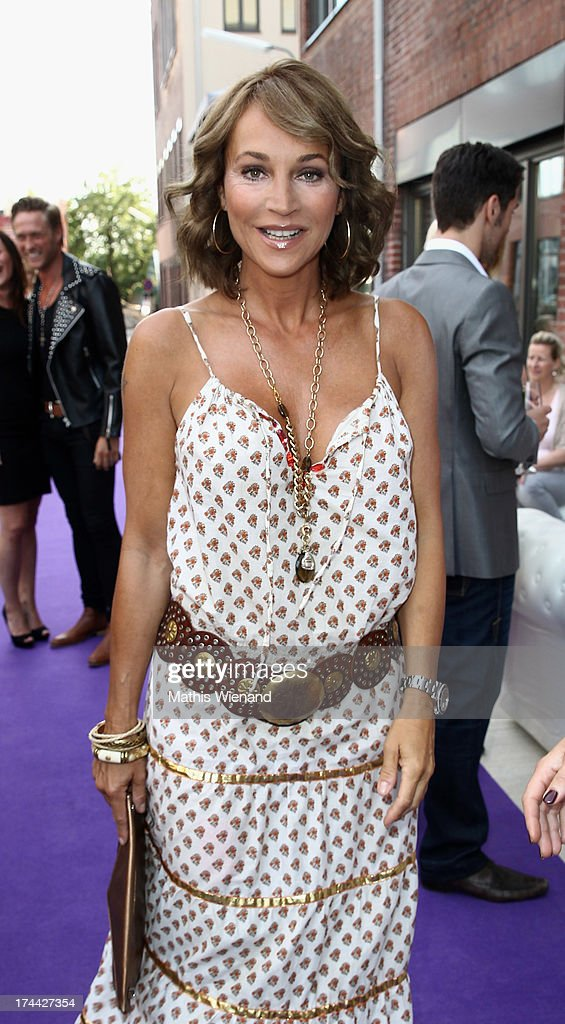 Caroline Beil attends the 'ADONIA meets Duesseldorf' Concept Store Opening at GFG Concept Store at Schwanenhoefe on July 25 2013 in Duesseldorf...