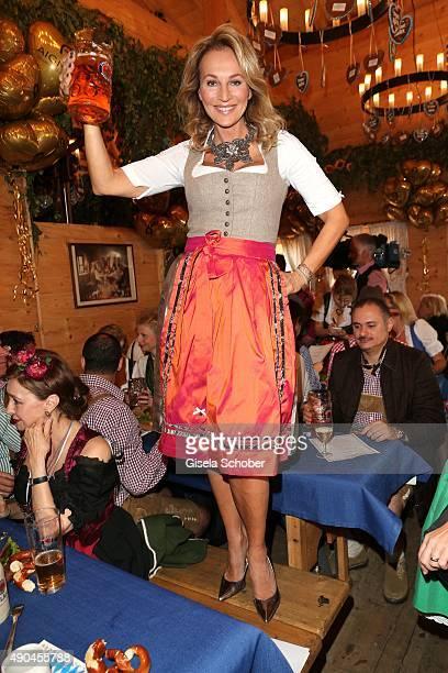 Caroline Beil attends the Aigner Wiesn during the Oktoberfest 2015 at Vinzenzmurr Metzgerstubn on September 28 2015 in Munich Germany Aigner...
