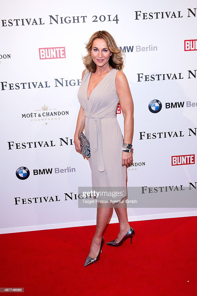 Caroline Beil attends the Bunte BMW Festival Night 2014 at Humboldt Carree on February 7 2014 in Berlin Germany