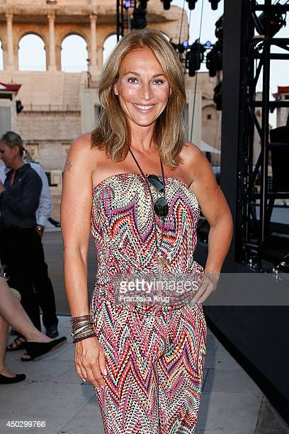 Caroline Beil attends the 'Fashion World Camp David und Soccx' Store Opening on June 08 2014 in Rust Germany