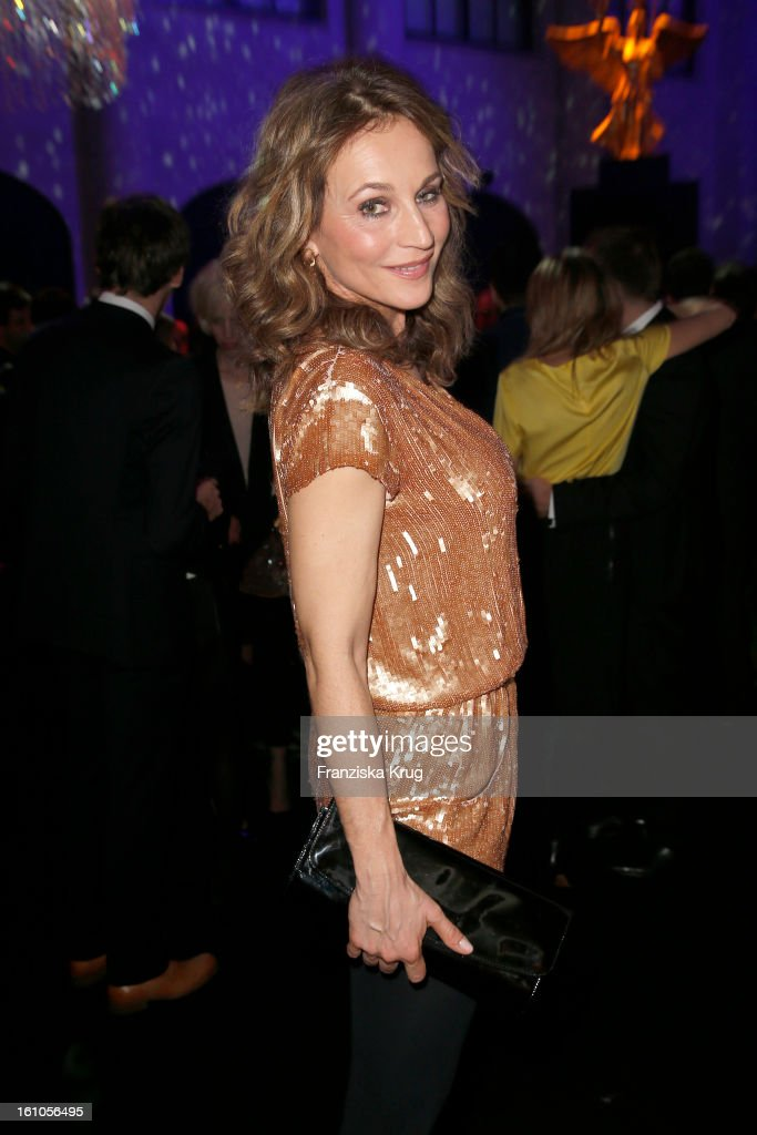 Caroline Beil attends the 'Festival Night by Bunte and BMW' at the 63rd Berlinale International Film Festival at the Humboldt Carre on February 8...