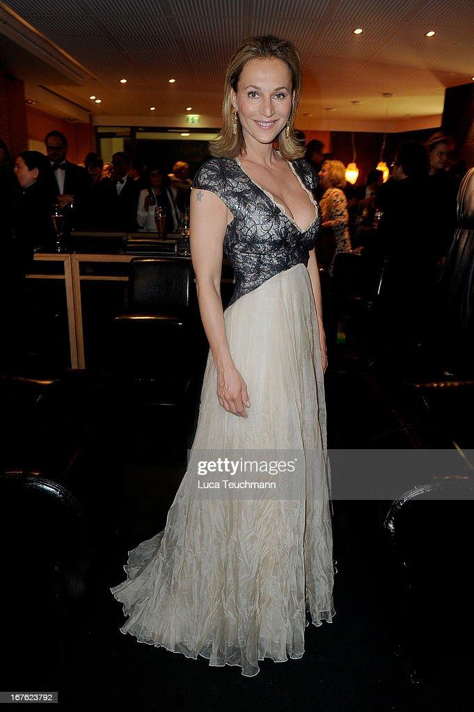 Caroline Beil attends the Lola - German Film Award 2013 - Party at Friedrichstadt-Palast on April 26, 2013 in Berlin, Germany.