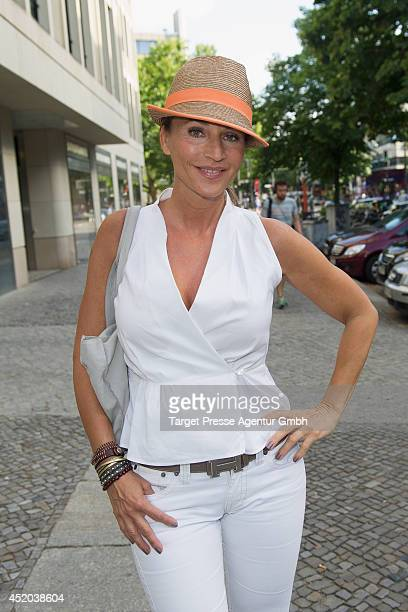 Caroline Beil attends the Natascha Ochsenknecht Collection Presentation at Hotel Q on July 11 2014 in Berlin Germany