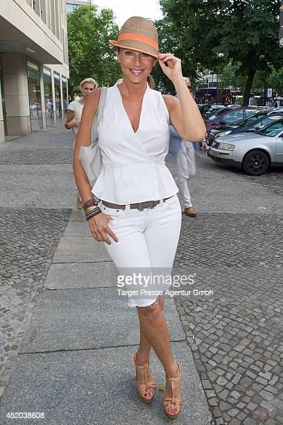 Caroline Beil attends the Natascha Ochsenknecht Collection Presentation at Hotel Q on July 11 2014 in Berlin Germany