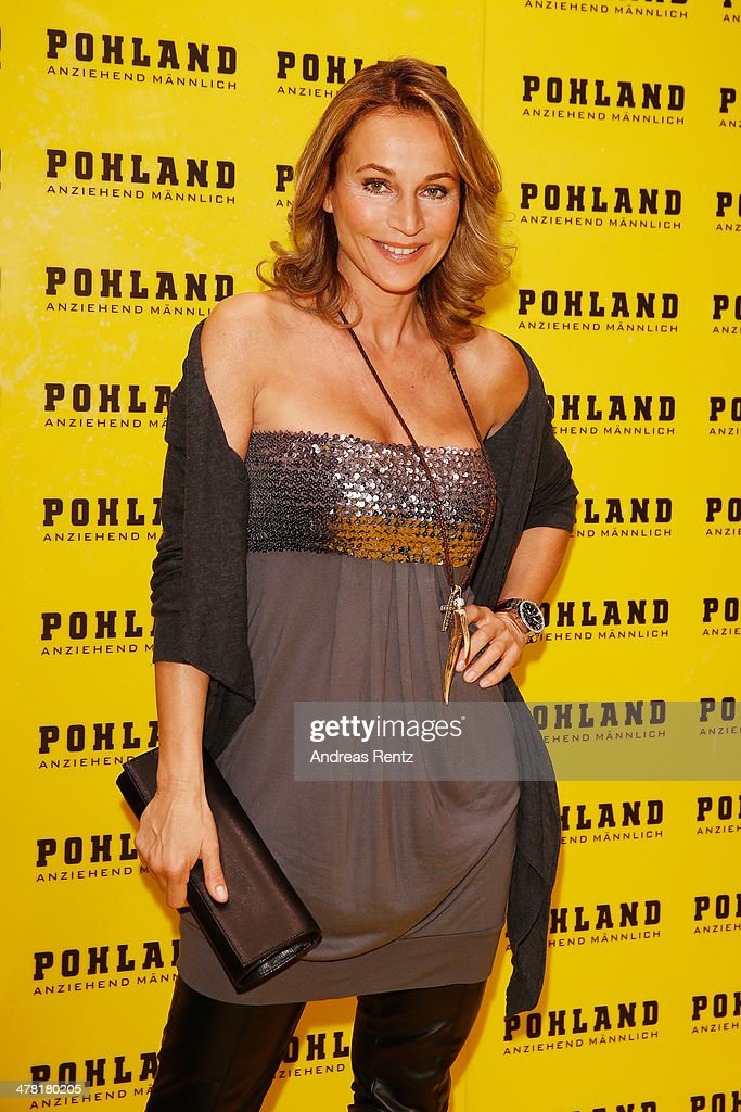 Caroline Beil attends the Pohland store opening on March 12 2014 in Dortmund Germany