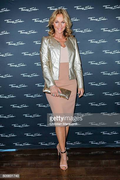 Caroline Beil attends the Thomas Sabo Press Cocktail event on January 20 2016 in Berlin Germany