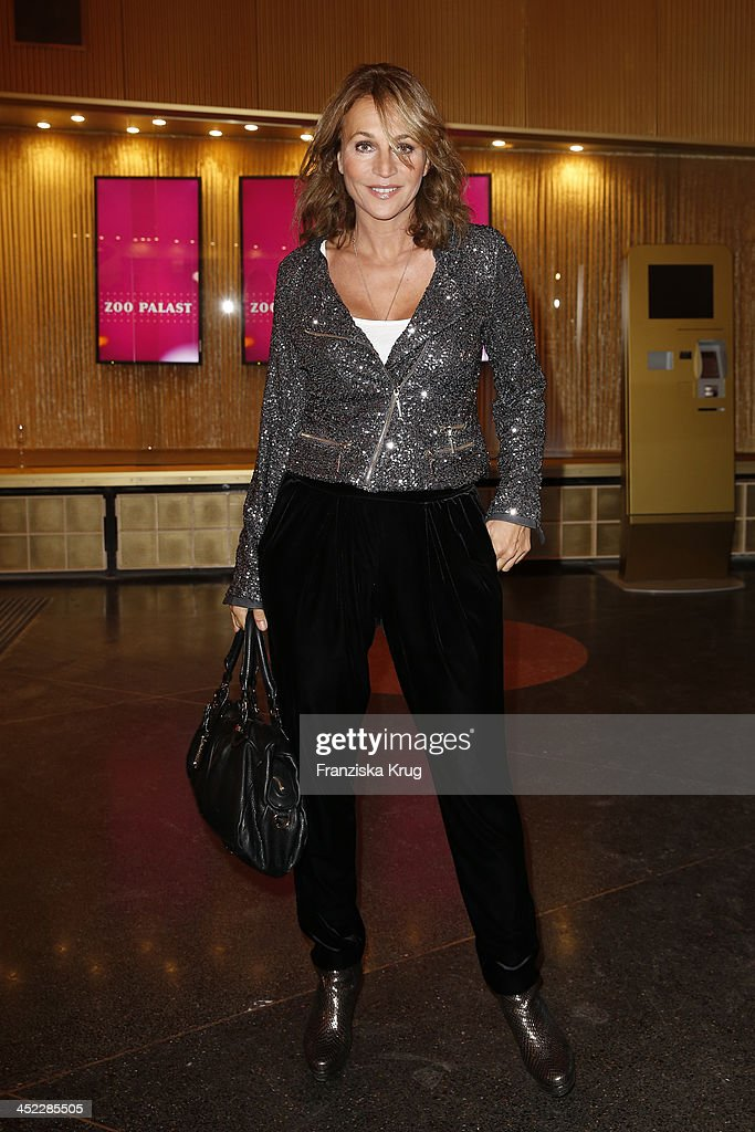 Caroline Beil attends the Zoo Palast Reopening at Zoo Palast on November 27 2013 in Berlin Germany