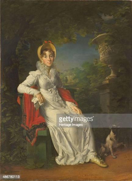 Caroline Bonaparte Queen of Naples and Sicily in the Bois de Boulogne 18201830 Artist Gérard François Pascal Simon