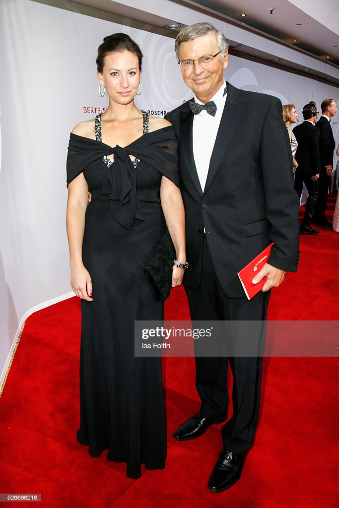 Caroline Bosbach and Wolfgang Bosbach attend the Rosenball 2016 on April 30, 2016 in Berlin, Germany.