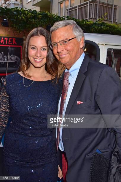 Caroline Bosbach and Wolfgang Bosbach during the celebration of Julian F M Stoeckels 25th birthday on April 25 2017 in Berlin Germany