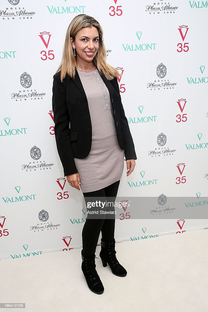 Caroline Botto attends the V35 Valmont SPA Launch Event at Plaza Athenee on January 30, 2013 in New York City.