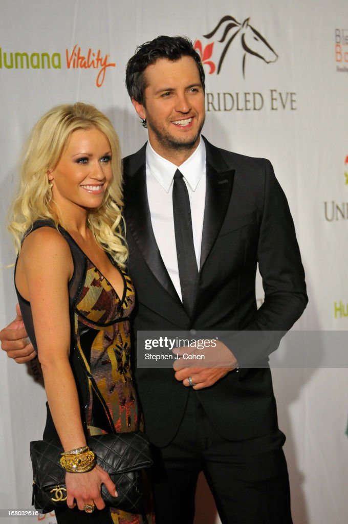 Caroline Boyer Bryan and <a gi-track='captionPersonalityLinkClicked' href=/galleries/search?phrase=Luke+Bryan&family=editorial&specificpeople=4001956 ng-click='$event.stopPropagation()'>Luke Bryan</a> attend the Julep Ball 2013 during the 139th Kentucky Derby at The Galt House Hotel & Suites - Grand Ballroom on May 3, 2013 in Louisville, Kentucky.