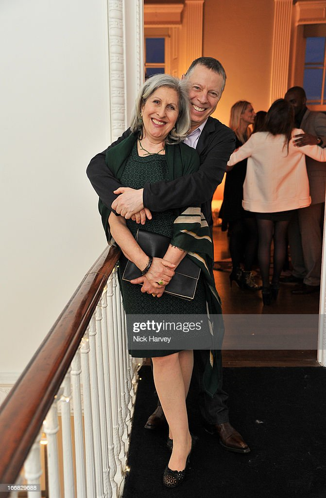 Caroline Burstein and Keith Appleby attend as Molton Brown and Giles Deacon launch a collaboration at the ICA on April 17, 2013 in London, England.