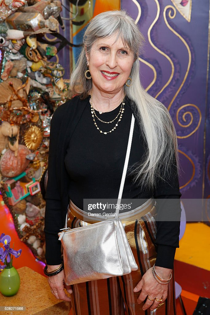 Caroline Burstein attends the Missoni Art Colour preview in partnership with The Woolmark Company at The Fashion and Textile Museum on May 4, 2016 in London, England.
