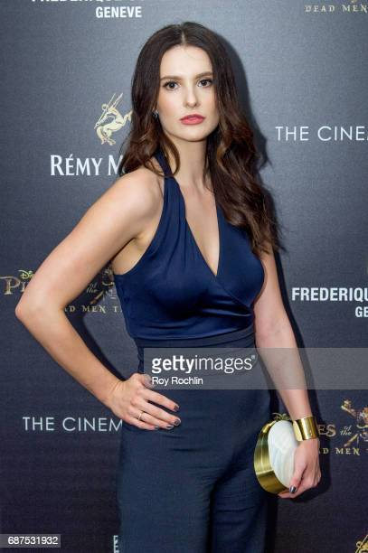 Caroline Byron attends The Cinema Society host a screening of 'Pirates Of The Caribbean Dead Men Tell No Tales' at Crosby Street Hotel on May 23 2017...