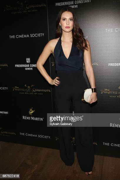 Caroline Byron attends The Cinema Society with Remy Martin Frederique Constant host a screening of 'Pirates of the Caribbean Dead Men Tell No Tales'...