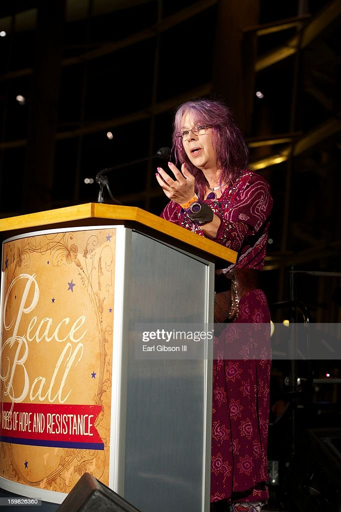 Caroline Casey speaks at The 2013 Peace Ball: Voices of Hope And Resistance at Arena Stage on January 20, 2013 in Washington, DC.