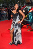 Caroline Chikezie attends the UK Film Premiere of 'The Sweeney' at Vue Leicester Square on September 3 2012 in London England