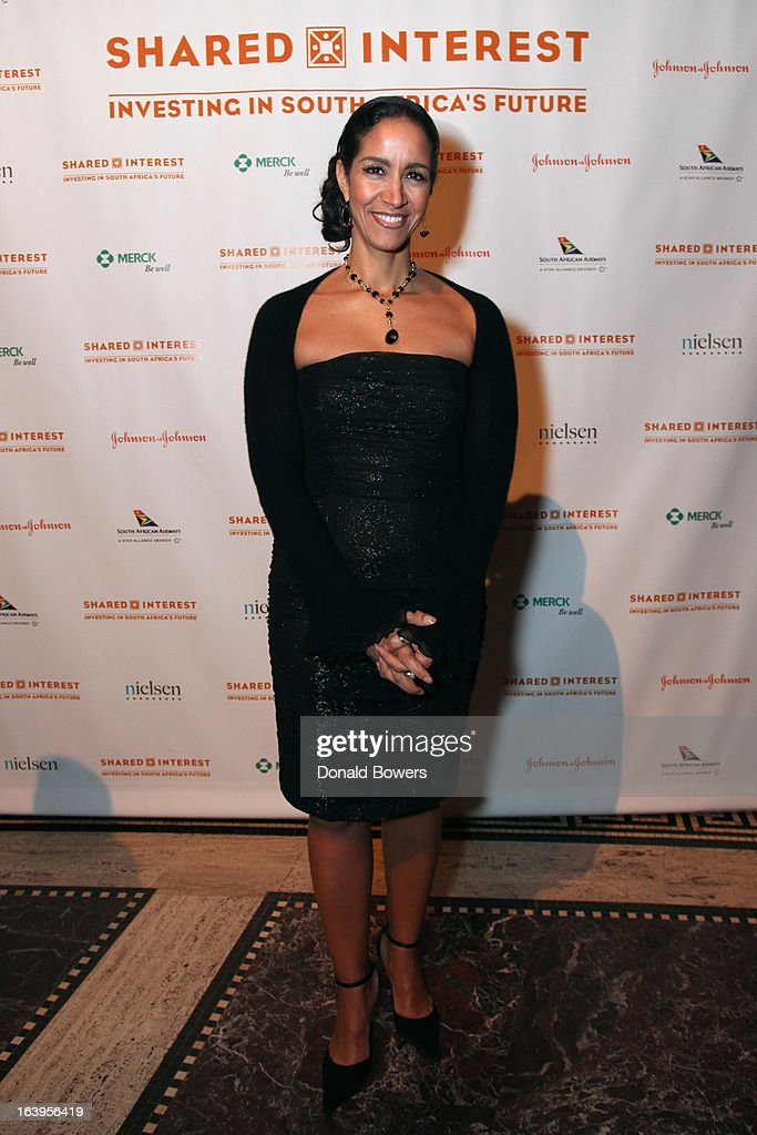 Caroline Clarke attends the Shared Interest 19th Annual Awards Gala on March 18, 2013 in New York City.