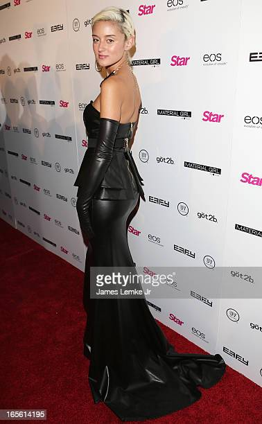 Caroline D' Amore attends the Star Magazine's 'Hollywood Rocks' Party held at the Playhouse Hollywood on April 4 2013 in Los Angeles California