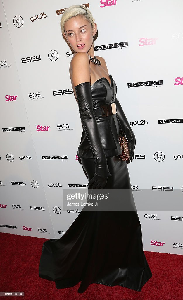 DJ Caroline D' Amore attends the Star Magazine's 'Hollywood Rocks' Party held at the Playhouse Hollywood on April 4, 2013 in Los Angeles, California.