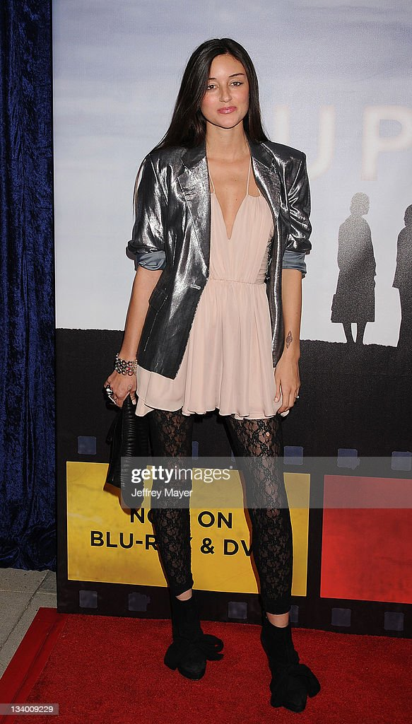Caroline D'Amore arrives to Paramount Pictures' 'Super 8' Blu-ray and DVD release party at AMPAS Samuel Goldwyn Theater on November 22, 2011 in Beverly Hills, California.