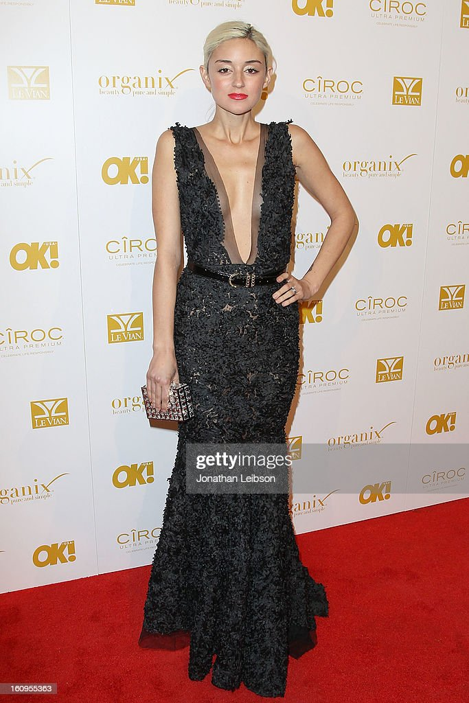 Caroline D'Amore attends the OK! Magazine Pre-GRAMMY Party at Sound on February 7, 2013 in Hollywood, California.