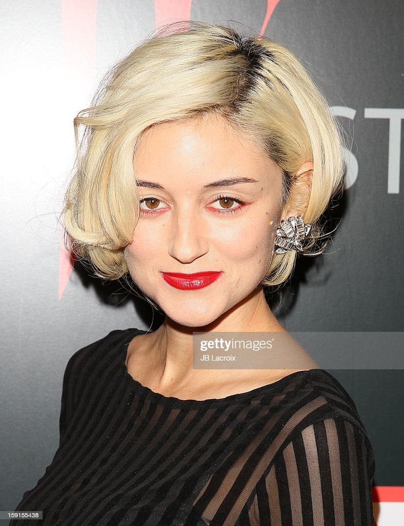 Caroline D'Amore attends the W Magazine & Guess Host 30 Years of Fashion & Film Next Generation of Style Party at Laurel Hardware on January 8, 2013 in West Hollywood, California.