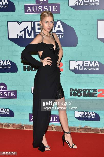 Caroline Daur attends the MTV EMAs 2017 at The SSE Arena Wembley on November 12 2017 in London England