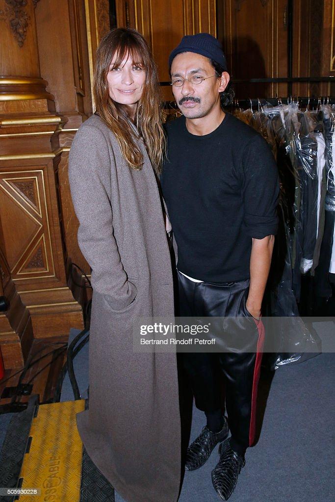 Haider Ackermann : Backstage - Paris Fashion Week - Menswear F/W 2016-2017
