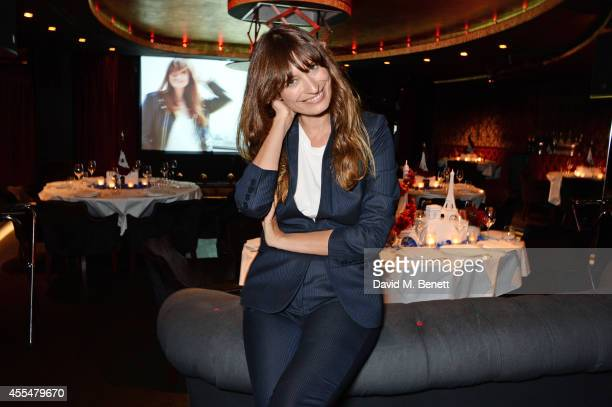 Caroline de Maigret attends as Lancome Caroline de Maigret host a private LFW dinner to celebrate 'How to be Parisian' at The Arts Club on September...
