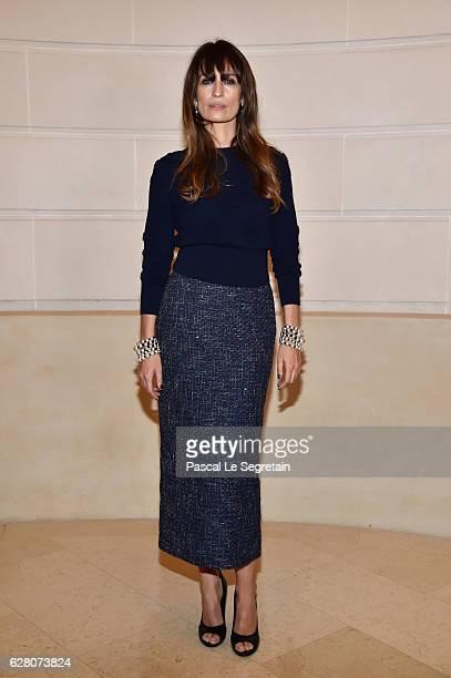 Caroline de Maigret attends 'Chanel Collection des Metiers d'Art 2016/17 Paris Cosmopolite' Show on December 6 2016 in Paris France