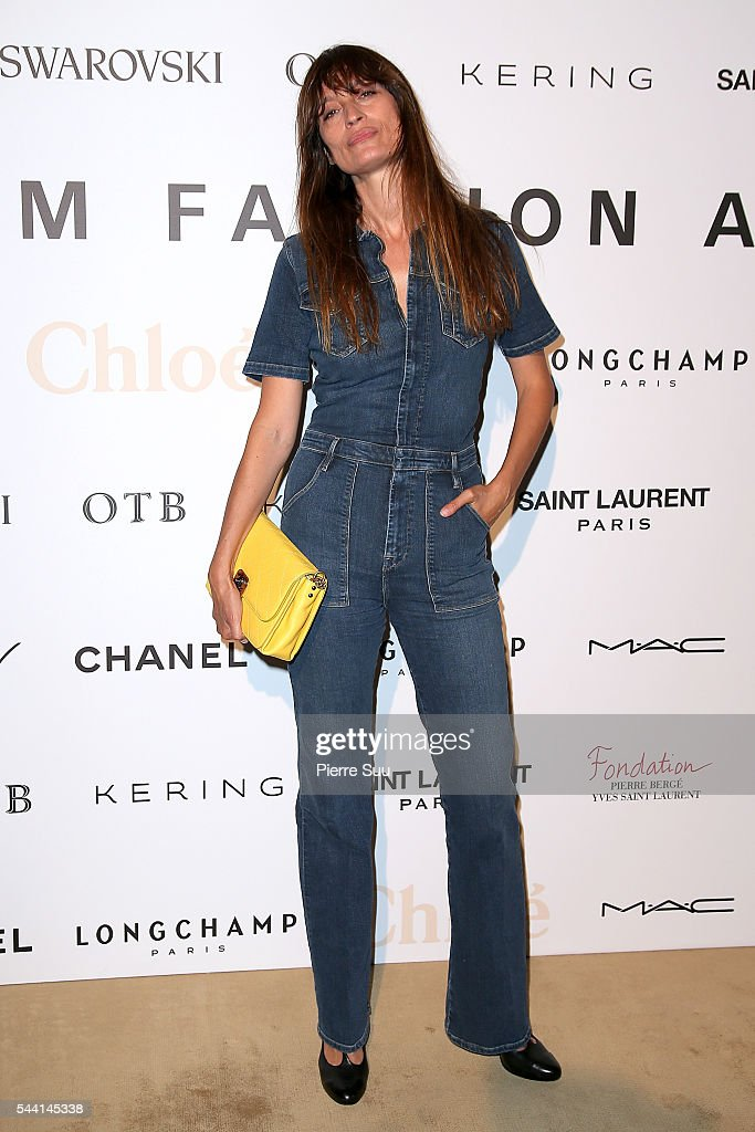 Caroline De Maigret attends the ANDAM Fashion Award Coktail Party at Ministere de la Culture on July 1, 2016 in Paris, France.