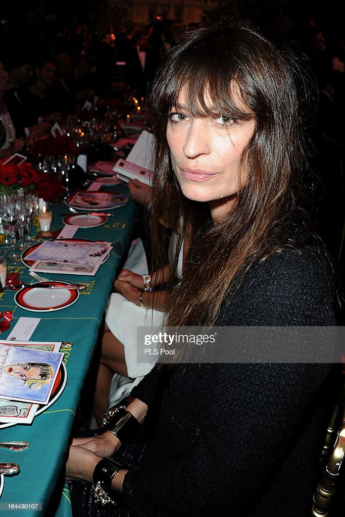 Caroline de Maigret attends the 'Bal De La Rose Du Rocher' in aid of the Fondation Princess Grace on the 150th Anniversary of the SBM at Sporting Monte-Carlo on March 23, 2013 in Monte-Carlo, Monaco.