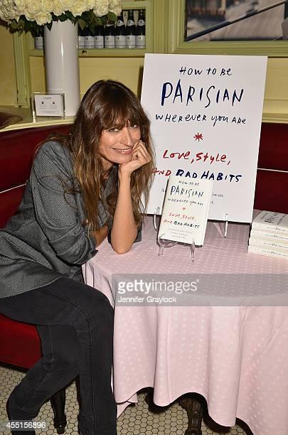 Caroline De Maigret attends the Caroline de Maigret for Lancôme Cocktail Party at Cherche Midi at Cherche Midi on September 9 2014 in New York City
