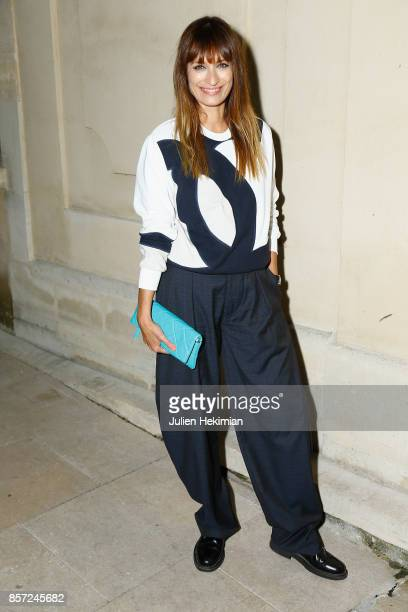 Caroline de Maigret attends the Chanel 'Code Coco' Watch Launch Party as part of the Paris Fashion Week Womenswear Spring/Summer 2018 on October 3...