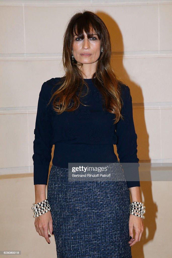 Caroline de Maigret attends the 'Chanel Collection des Metiers d'Art 2016/17 : Paris Cosmopolite'