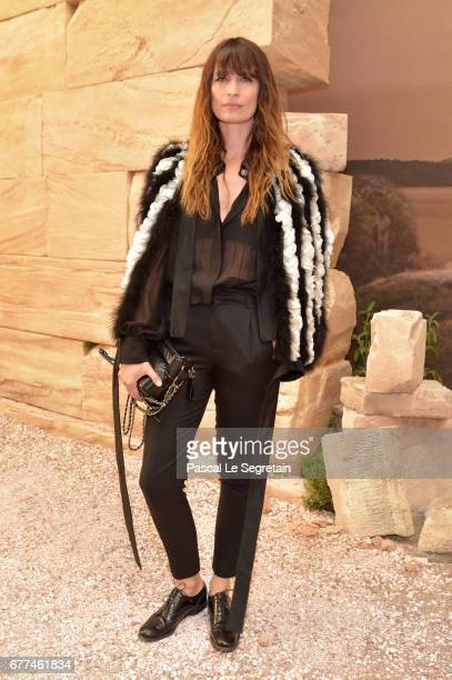 Caroline de Maigret attends the 'Chanel Cruise 2017/2018 Collection' at Grand Palais on May 3 2017 in Paris France