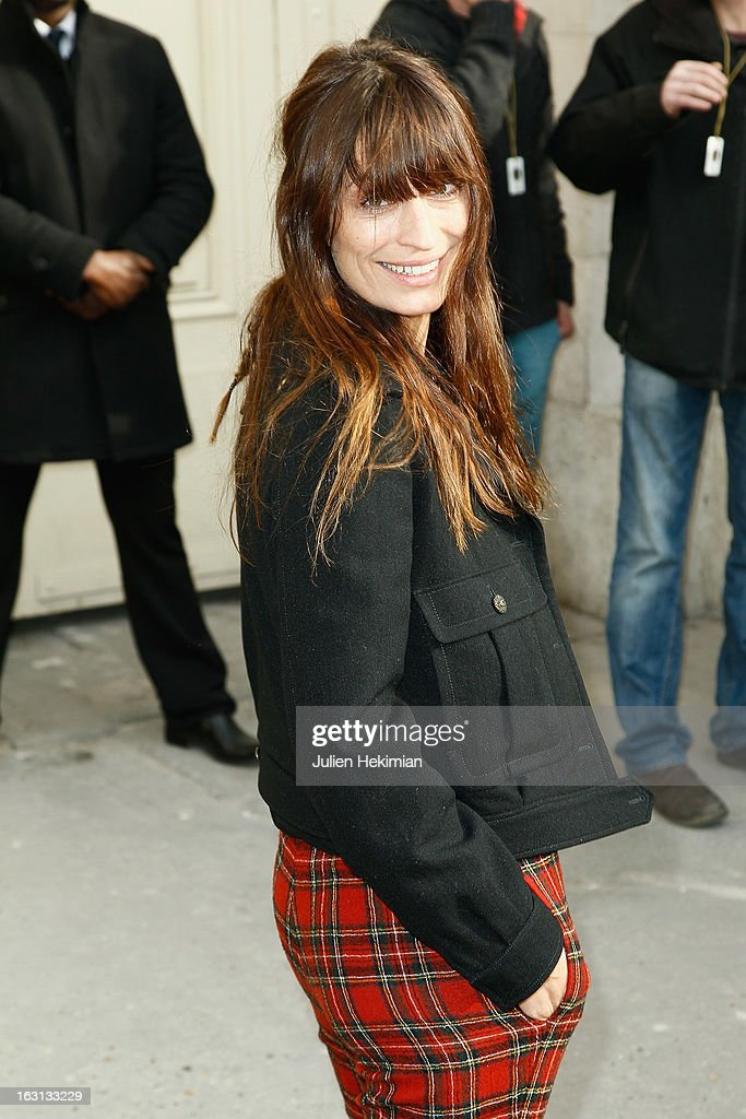 Caroline de Maigret attends the Chanel Fall/Winter 2013 Ready-to-Wear show as part of Paris Fashion Week at Grand Palais on March 5, 2013 in Paris, France.