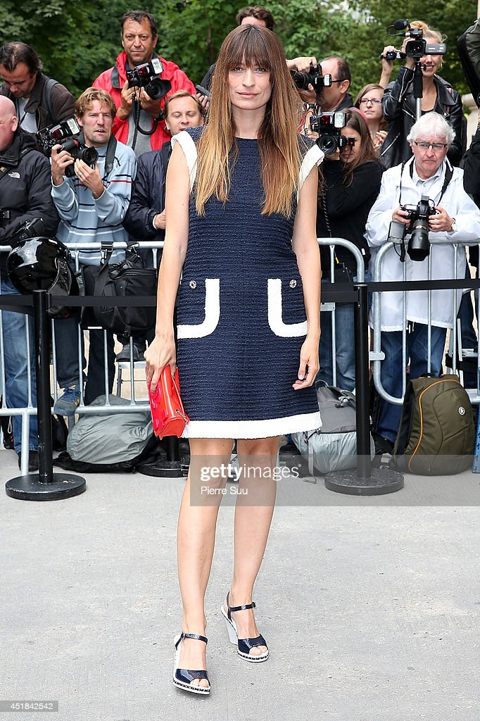 <a gi-track='captionPersonalityLinkClicked' href=/galleries/search?phrase=Caroline+de+Maigret&family=editorial&specificpeople=7082665 ng-click='$event.stopPropagation()'>Caroline de Maigret</a> attends the Chanel show as part of Paris Fashion Week - Haute Couture Fall/Winter 2014-2015 at Grand Palais on July 8, 2014 in Paris, France.