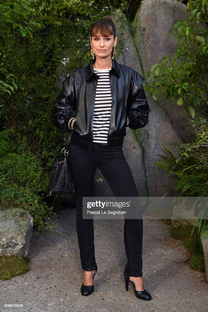 Caroline de Maigret attends the Chanel show as part of the Paris Fashion Week Womenswear Spring/Summer 2018 on October 3, 2017 in Paris, France.